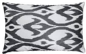casa padrino luxus kissen mod2 schwarz weiß 60 x 40 cm wohnzimmer deko accessoires