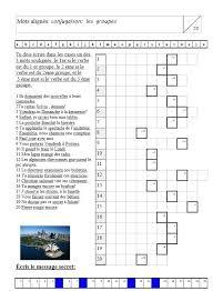 si er conjugaison 42 best fle verbes 3 groupes images on lessons