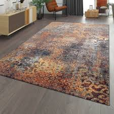 teppich used look ethno design wohnzimmer