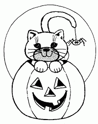 24 Free Printable Halloween Coloring Pages For Kids