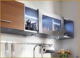 meuble haut cuisine avec porte coulissante améliorer la première