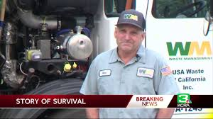 100 Garbage Truck Song Hero Trash Collector Rescues Elderly Woman From Wildfire Katy