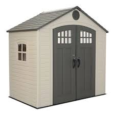 lifetime 8 x 5 outdoor storage shed sam s club