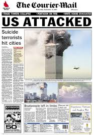 September 11 Newspaper Front Pages From The Following Day