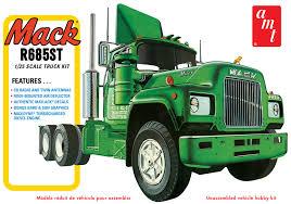 100 Amt Model Trucks AMT Mack R685ST Semi Tractor 125 Kit 1039 Up Scale Hobbies
