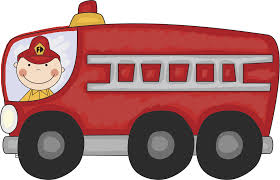 Black And White Fire Truck Clipart - Clipart Collection   Firetruck ...