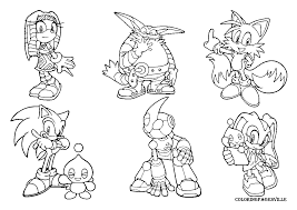 Mario And Sonic Coloring Pages To Print