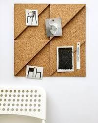 modular cork hexagon tiles set of 3 noticeboard