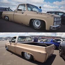 100 Bagged Chevy Trucks Street