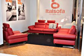 Italsofa Red Leather Sofa by Furniture Tokyo Ital Sofa Exhibition 2010 Vol 1