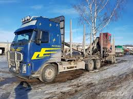 100 Log Trucks Used Volvo FH13 520 Logging Trucks Year 2007 Price US 33509 For