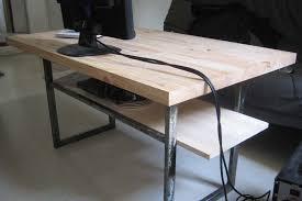 plateau de bureau en bois plateau bois pour bureau homeezy