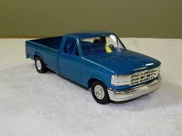 100 1992 Ford Truck F150 Pickup Promo Model Car Bimini Blue P