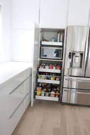 Pantry Cabinet Shelving Ideas by Best 25 Microwave Storage Ideas On Pinterest Microwave Cabinet