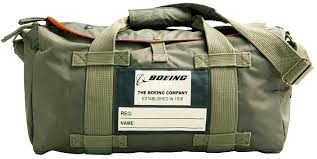 boeing stow overnight duffle bag