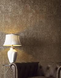 tapete braun betonoptik gold metallic vliestapete industrial