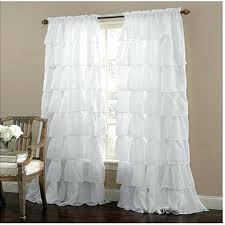 Pink Ruffled Window Curtains by Ruffled Window Curtains Ruffled Elegance Country Style Curtains