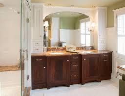 Houzz Bathroom Vanities White by Bathroom Vanity Ideas Houzz Midcentury Bathroom With Espresso