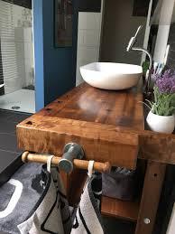 werkbank waschtisch werkbank alte werkbank badezimmer holz