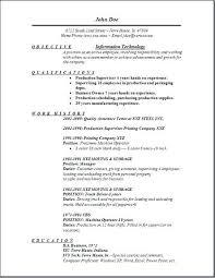 Information Technology Resume Templates Student Sample No Experience