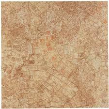 nexus ancient beige mosaic 12x12 self adhesive vinyl floor tile