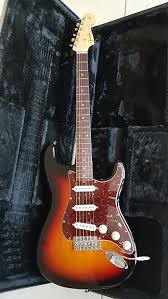 Fender Stratocaster John Mayer Body Sunburst