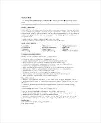 Structural Welder Resume Template