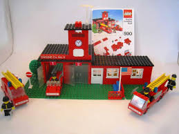 100 Lego Fire Truck Instructions 590 Station No 9 From 1978 With Instructions Bonus 672
