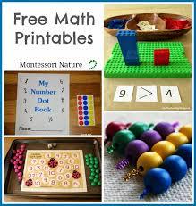 Free Math Printables