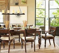 Pottery Barn Aaron Chair Espresso by Hayden Extending Dining Table Potterybarn Perfect Size Extends