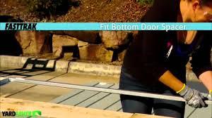 Yardsaver Shed Floor Kit by Cheap Sheds Yardsaver Garden Sheds Assembly Videos Part 3