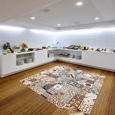 carrelage cuisine design tapis de carrelage à l ancienne de type carreaux de ciment