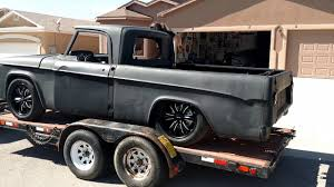 100 1962 Dodge Truck D100 Sweptline Truck On Trailer YouTube
