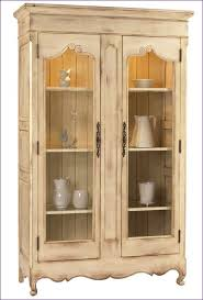 kitchen room magnificent light oak curio cabinet wall mounted