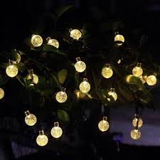 Led Tree Lights Outdoor Warm White Christmas Exterior Large Hanging Snowflake