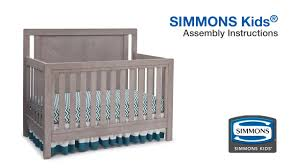 Pedicraft Canopy Bed by Simmons Kids Madison Crib U0027nu0027 More 4in 1 Convertible Crib