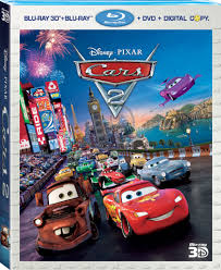 Pixar Races Cars 2 Home To Disney Blu-ray 3D And DVD November 1st ...