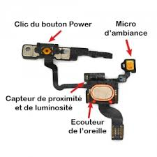 power capteur de proximité iphone 4 complète