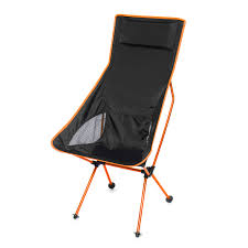Chairs - Outdoor Portable Folding Fishing Chair Aluminum Camping ... 22x28inch Outdoor Folding Camping Chair Canvas Recliners American Lweight Durable And Compact Burnt Orange Gray Campsite Products Pinterest Rainbow Modernica Props Lixada Portable Ultralight Adjustable Height Chairs Mec Stool Seat For Fishing Festival Amazoncom Alpha Camp Black Beach Captains Highlander Traquair Camp Sale Online Ebay