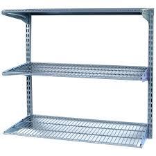 Sterilite 2 Shelf Utility Cabinet by Garage Lowes Wire Shelving Sterilite Shelves Garage Cabinets