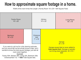 measuring your square footage of your floor tile and grout or