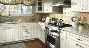 White Cabinets Black Appliances Kitchen With Mesmerizing Beautiful Luxury Designs