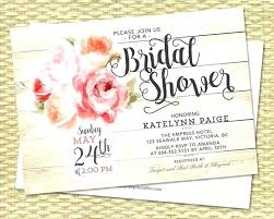 Etsy Bridal Shower Invitations Zoom Rustic Wedding