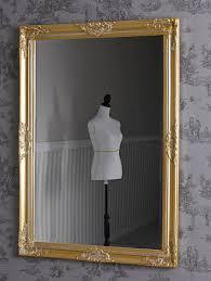 badspiegel barock spiegel wandspiegel dekospiegel antikstil