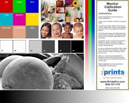 Contrast And Color On Your Screen See The Information Below This Chart Can Be Downloaded At Iprintspro MonitorCalibrationphp