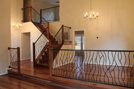 Stairs. Amazing Indoor Railing: Fascinating-indoor-railing-stair ... Watch This Video Before Building A Deck Stairway Handrail Youtube Remodelaholic Stair Banister Renovation Using Existing Newel How To Paint An Oak Stair Railing Black And White Interior Cooper Stairworks Tips Techniques Installing Balusters Rail Renovation_spring 2012 Wood Stairs Rails Iron Install A Porch Railing Hgtv 38 Upgrade Removing Half Wall On And Replace Teresting Railings For Stairs Installation L Ornamental Handcrafted Cleves Oh Updating Railings In Split Level Home