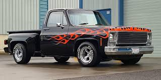 1979 Chevrolet C 10 Scottsdale Step Side Pickup For Sale