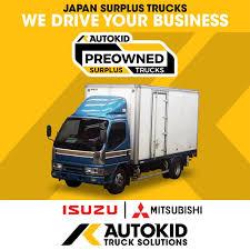 100 Mitsubishi Commercial Trucks MITSUBISHI CANTER Aluminum Van AUTOKID Surplus Wing
