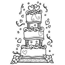 Wedding Cake Drawn Wedding Cake Birthday Cake Pencil And In Color Drawn Throughout Wedding Cake Drawings Wedding Cake Drawings Wedding Cake Line Drawings