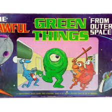 The Awful Green Things From Outer Space Board Game 1980s Vintage COMPLETE Retro 80s Games